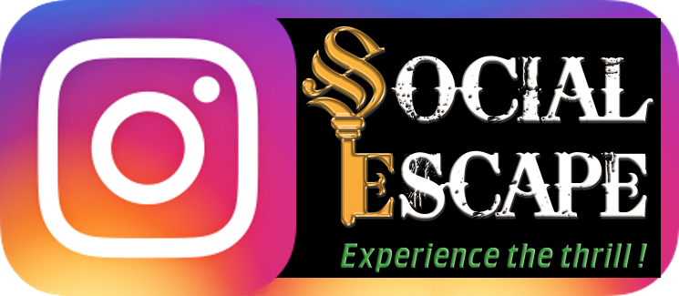Social Escape Rooms Instagram